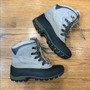 Kamik Rain/Snow Boots with Fur Lining